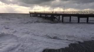 видео Гостевой дом «У моря» Джанхот, пер. Морской, 4