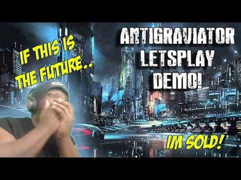 Antigraviator  Letsplay  GAMEJOLT..I SEE YOU! THIS THE FUTURE!?  