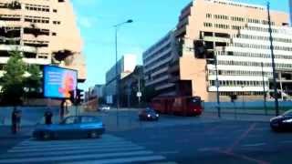コソボ紛争!セルビア・ベオグラード・NATO空爆ビル①
