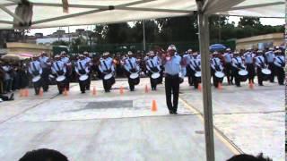 Banda de Guerra Bomberos de Celaya en Calderon 2014