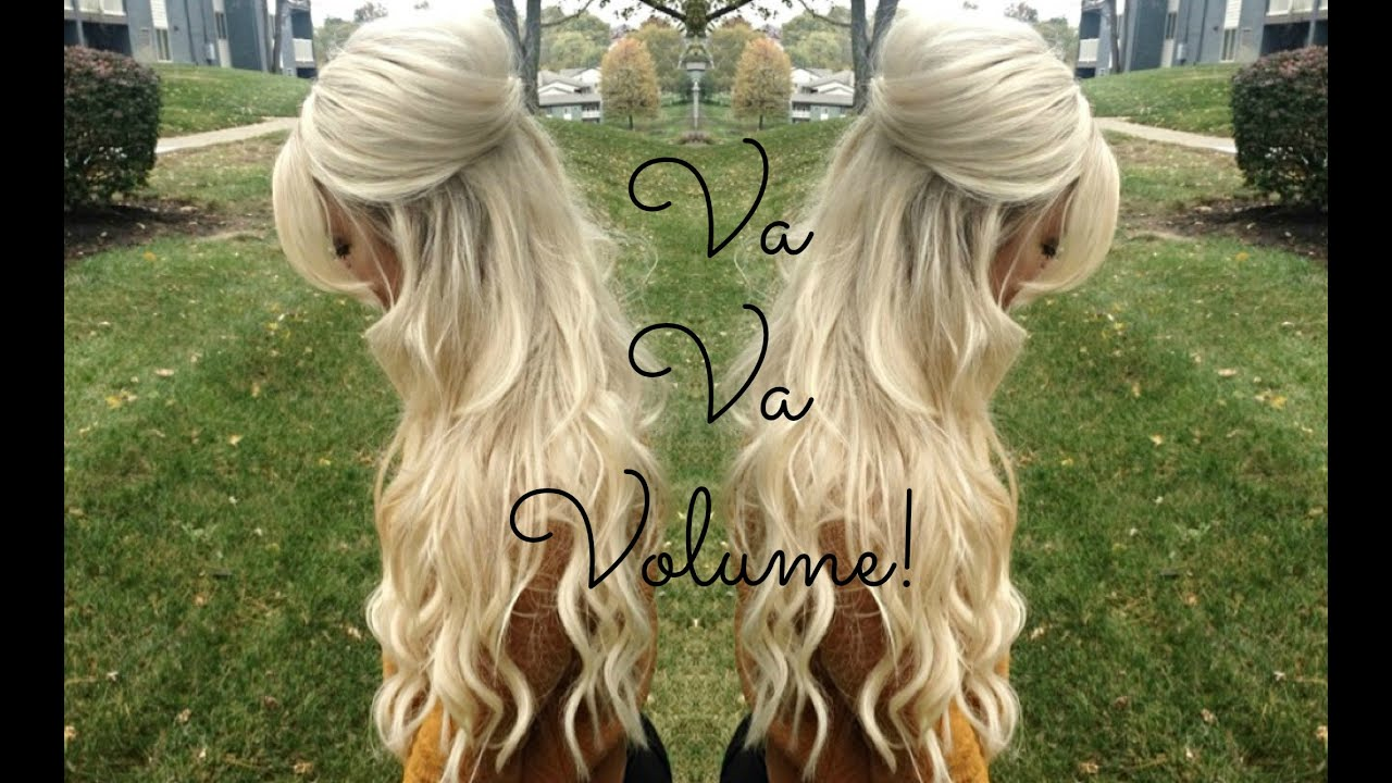 Voluminous Half Up Half Down Hairstyle Theblondebeautyy