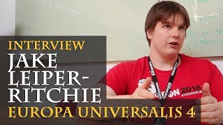 Interview with Jake Leiper-Ritchie - Europa Universalis 4 (PDXCON 2018 / English)