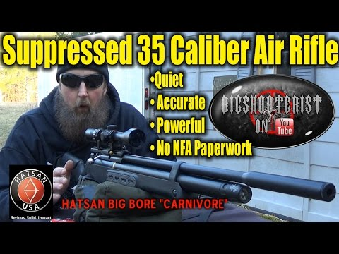 35 Caliber Silenced Air Rifle Intro