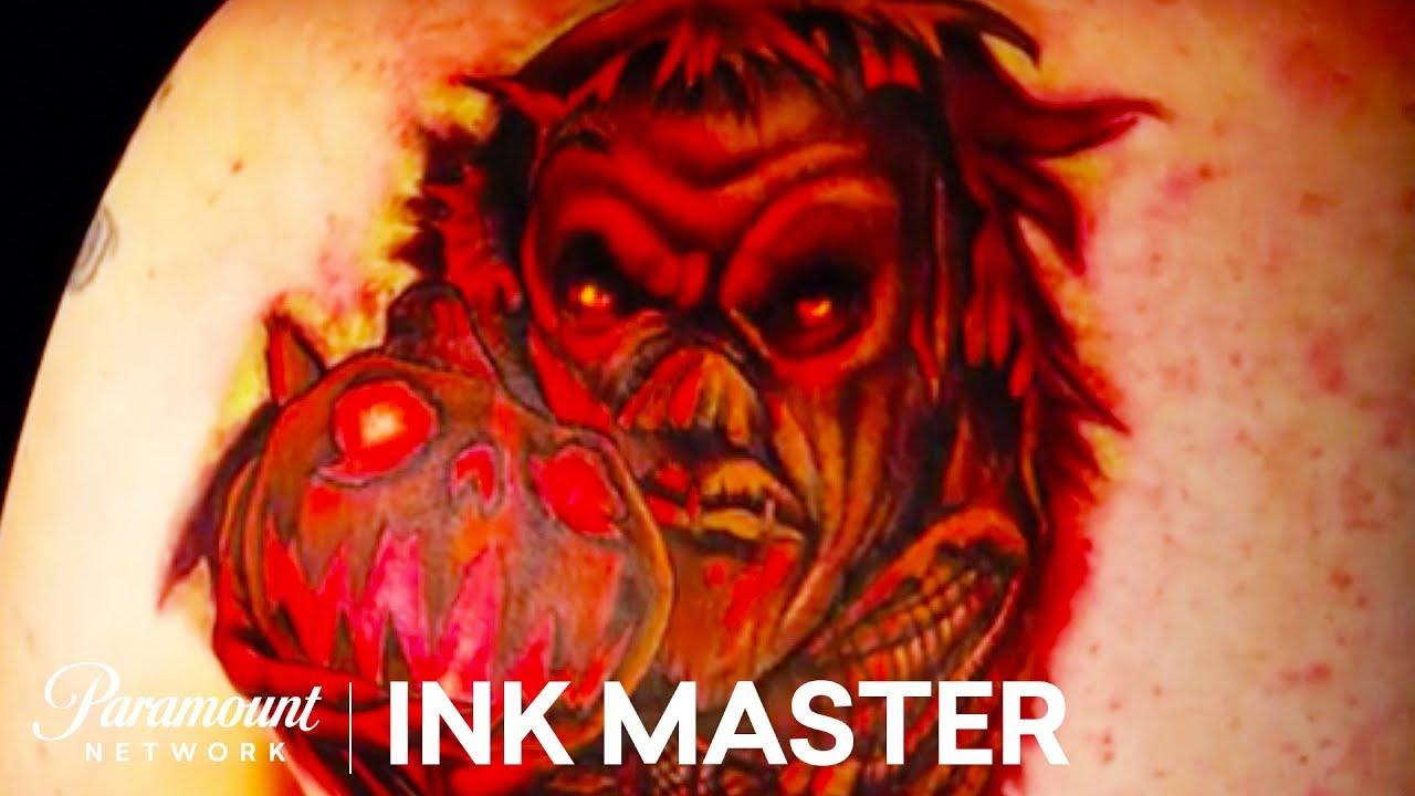 Tattoo nightmares halloween 39 s demon youtube for Is tattoo nightmares still on