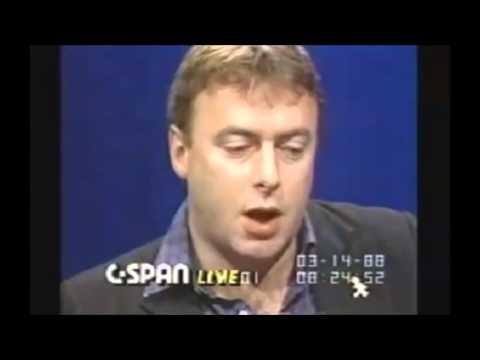 Christopher Hitchens Hitchslaps Silly Conservative