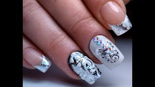 Литье и Вензеля Самый Крутой Зимний Дизайн Ногтей   The Coolest Winter Nail Design