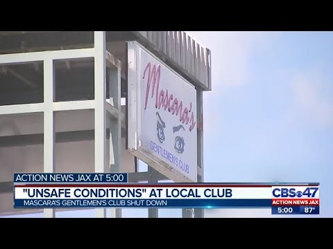 Adult Entertainment Club On Jacksonville's Southside Closed For Violations