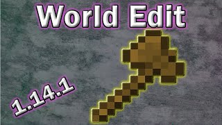 Gambar cover Tutorial - How to Install World Edit for Minecraft 1.14.1