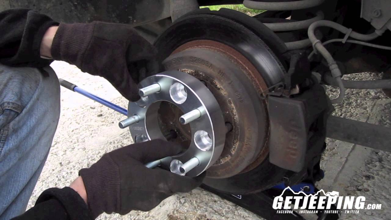 How To: Install Wheel Spacer Or Adapters   GetJeeping   YouTube