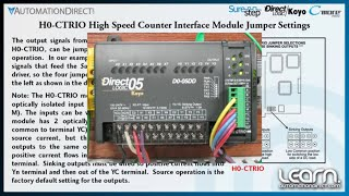Motion Control - Wiring, CTRIO Jumper Settings & Drive DIP Switch Settings (Part 4 of 8)