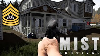 Basic Base And Wall Building | Mist Survival Live Stream