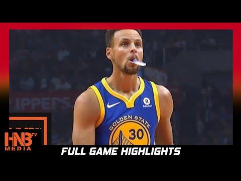 Golden State Warriors vs LA Clippers 1st Half Highlights / Week 2 / 2017 NBA Season