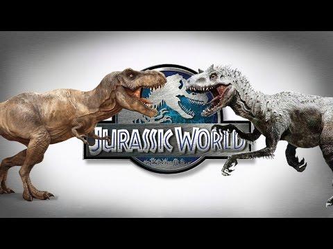 Jurassic World Indominus Rex vs. Tyrannosaurus Rex Discussion