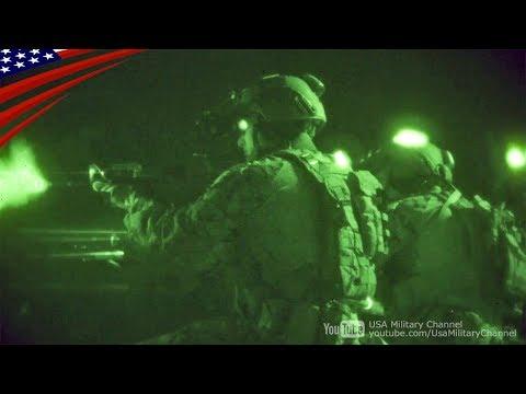 【精鋭部隊】アメリカ海兵隊MRFの夜間射撃訓練