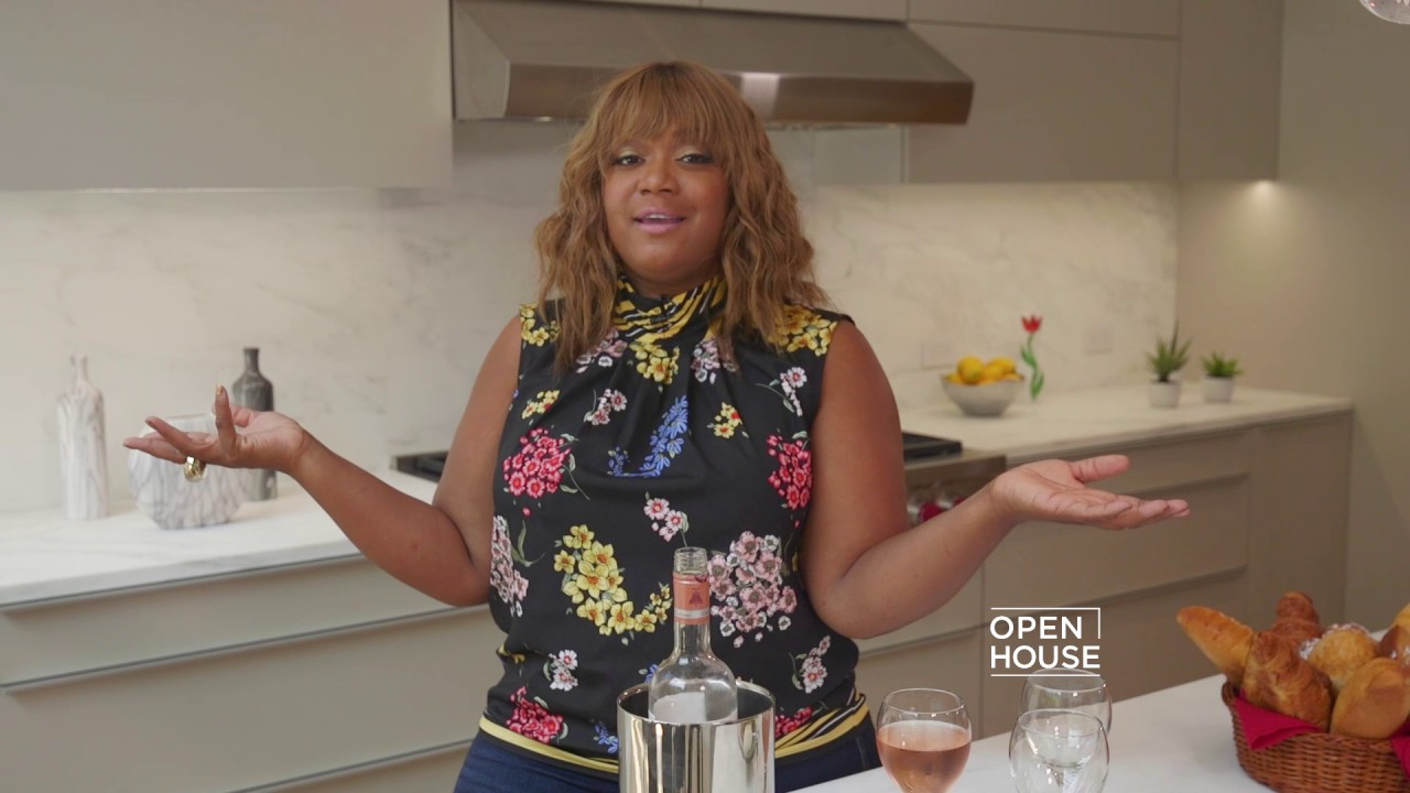 Sunny Anderson sunny anderson is guest hosting open house! - youtube