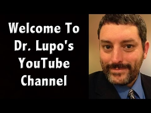 Welcome to Dr. Tarrin P Lupo's YouTube Channel