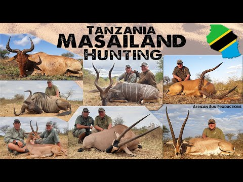 Hunting Masailand Tanzania with Greg and Game Trackers Africa. Hunt plains game with the Masai tribe