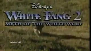 Disney's White Fang 2: Myth of the White Wolf TV Spot (1994) (windowboxed) (on-screen text)