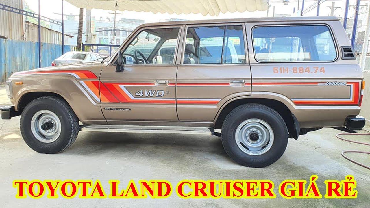Toyota Land Cruiser cũ giá rẻ, xe 2 cầu, siêu bền, đi địa hình số 1 | Phúc Việt ô tô cũ Bình Dương