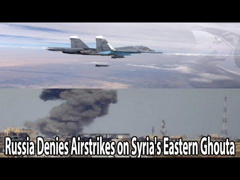 Russia Denies Airstrikes on Syria's Eastern Ghouta|| World News Radio