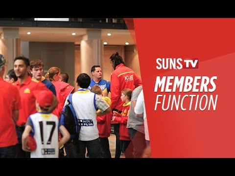 SUNS TV: Members Post-Match Function