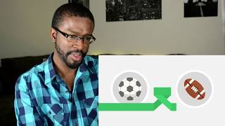 Football vs American Football - Which sport is better? REACTION