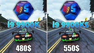 Intel Core i9 9900KS vs i9 9900K Test in 10 Games