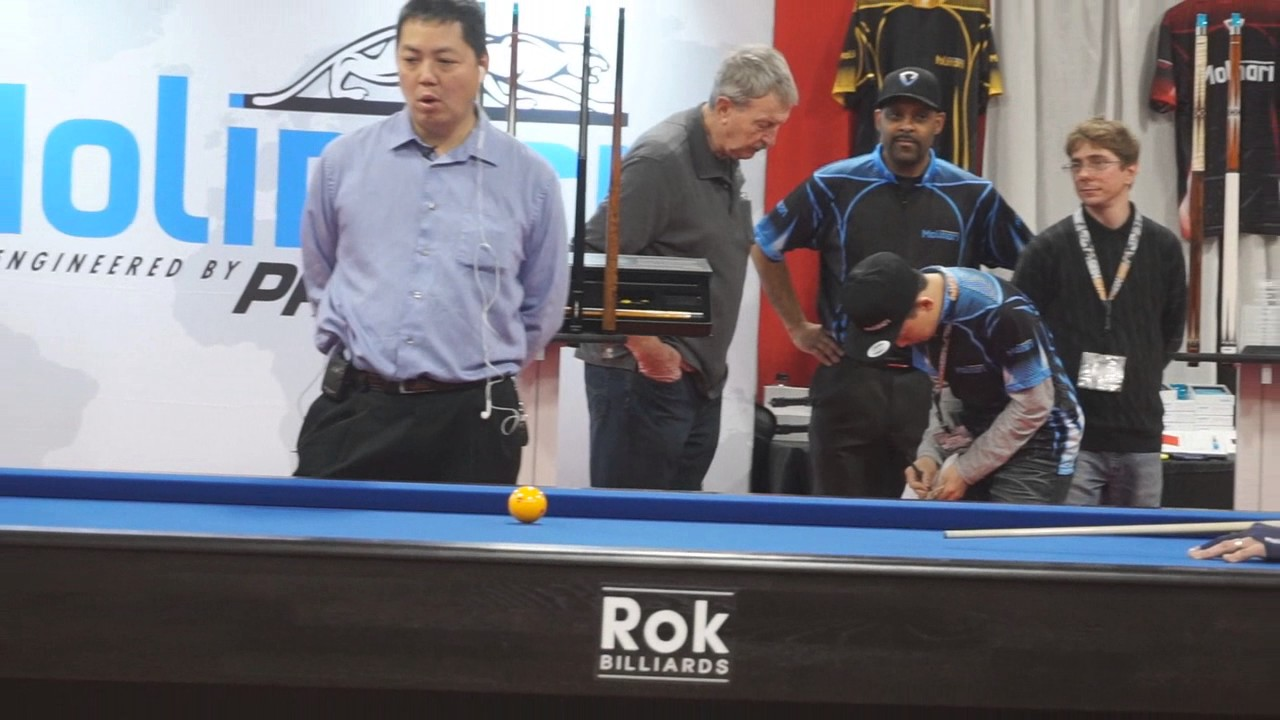 Super billiards expo 2017 youtube for Pool expo show
