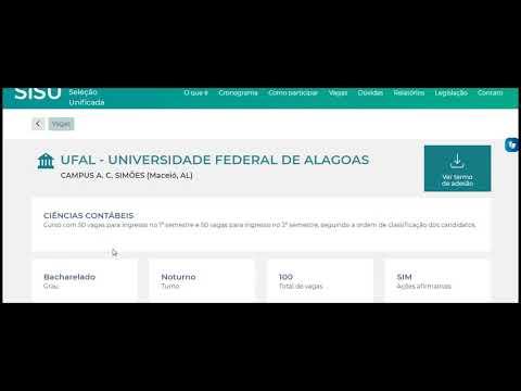 CIÊNCIAS CONTÁBEIS UFAL   UNIVERSIDADE FEDERAL DE ALAGOAS CAMPUS A  C  SIMÕES Maceió, AL