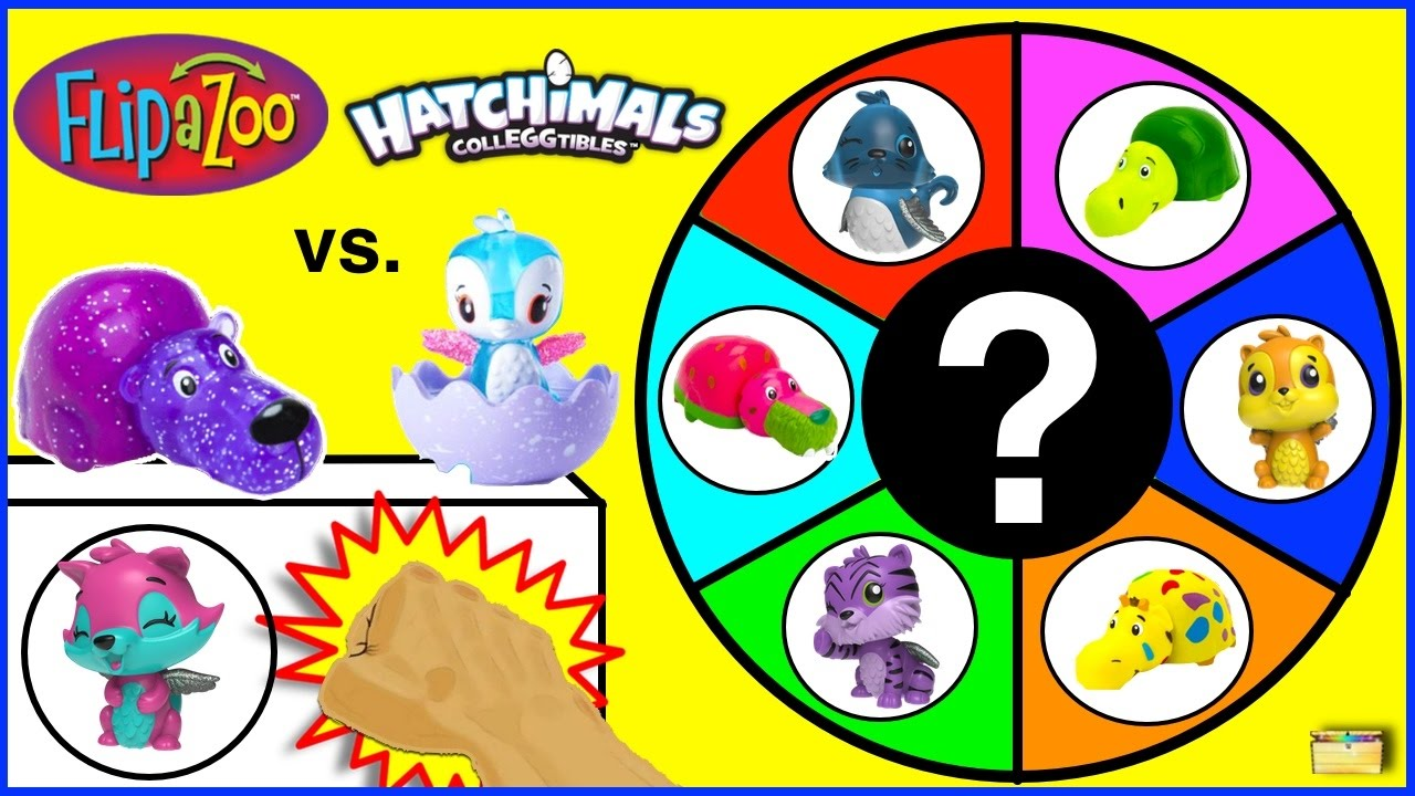 Hatchimals Colleggtibles Vs Flipazoo Mini Blind Bags Game