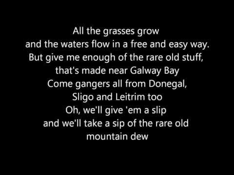 Rare Old Mountain Dew - Dubliners (Lyrics)