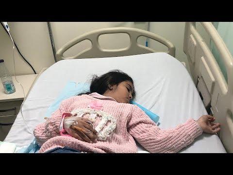لانا تعبانه .. بالمستشفى ومركبين لها مغذي