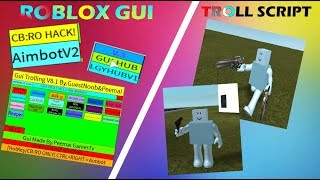 ROBLOX GUI TROLL VER 8.1.2 ARE HERE! [Script is DED]