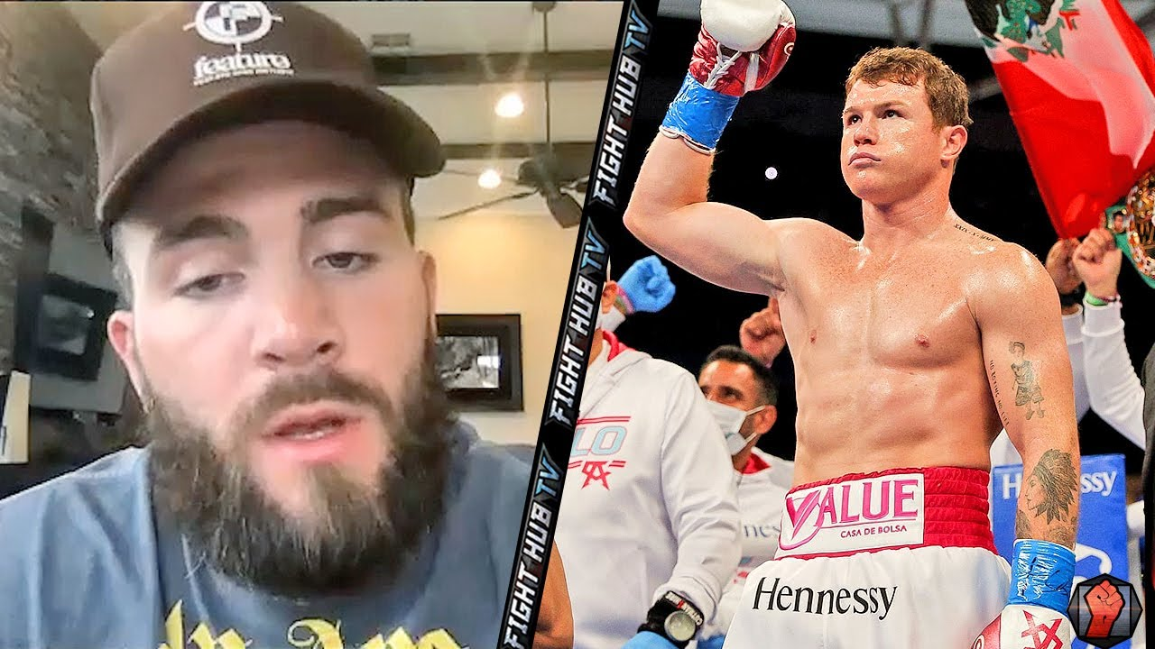 """CALEB PLANT """"I ABSOLUTELY BEAT CANELO! IM COMING TO WIN"""" TELLS FANS TO """"WATCH & SEE"""" HIM SHOCK WORLD"""