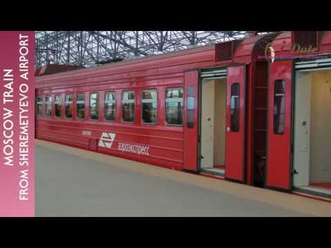 iDate2011 Moscow: How to Find and use the AeroExpress Train to Moscow in Sheremetyevo Airport