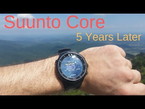 Suunto Core 5 Years Later