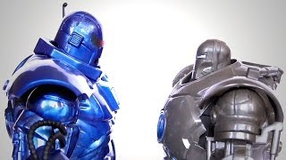 IRON MONGER - COMIC vs MOVIE Action Figure Comparison