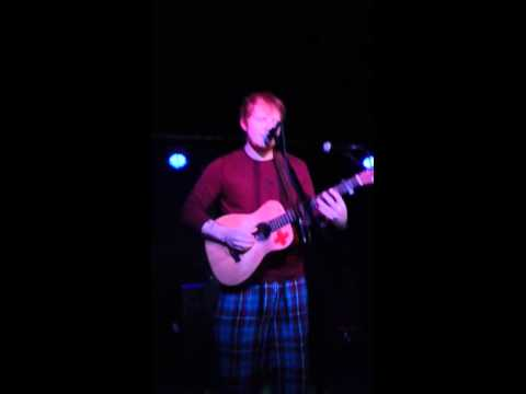 """Ed sheeran- """"one night"""" mercury lounge NYC"""