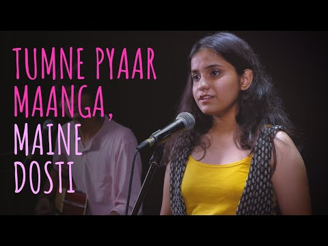 """Tumne Pyaar Maanga, Maine Dosti"" - Vanika Sangtani & Tanmay | UnErase Poetry"