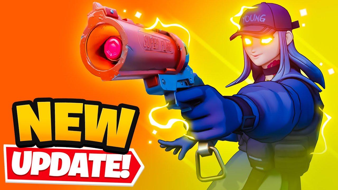 *NEW* FLARE GUN in Fortnite (Secret Update)