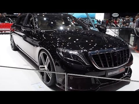BRABUS 900 Mercedes Maybach S Class Interior Exterior detail review