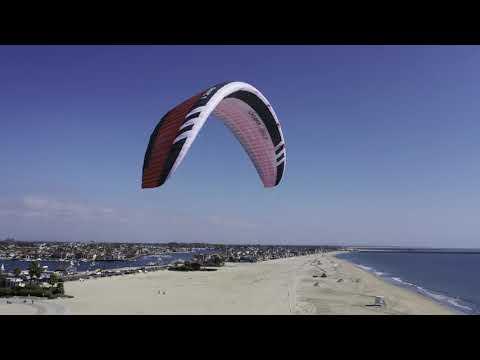 Sabrina Testing The New German Flysurfer Kite Sonic 3