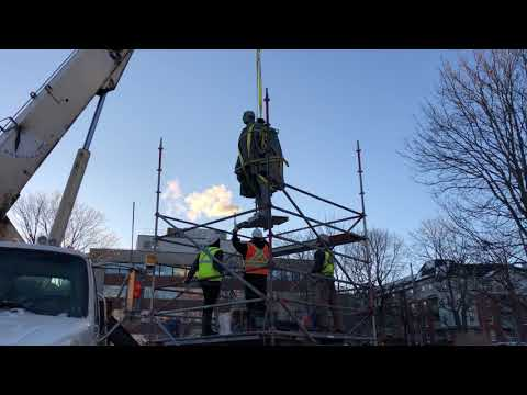 Cornwallis statue is removed
