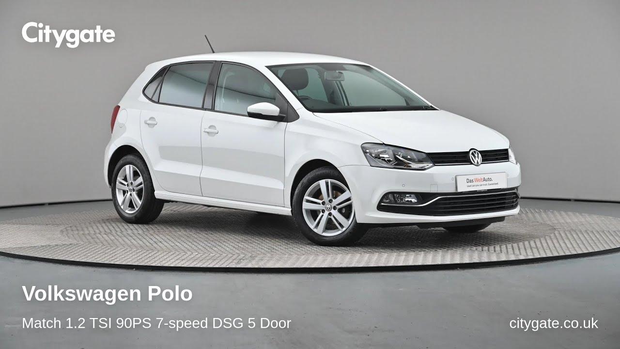 Volkswagen Polo - Match 1.2 TSI 90PS 7-speed DSG 5 Door - Citygate Volkswagen Chalfont - YouTube