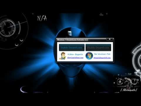 Configurar y activar  dreamscene en windows 7
