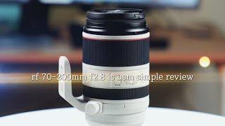 canon RF 70-200mm f2.8l is usm…