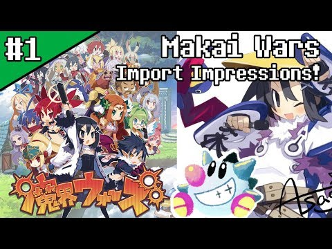 Let's Play Makai Wars (1): Disgaea Mobile SRPG Spinoff Import Impressions!