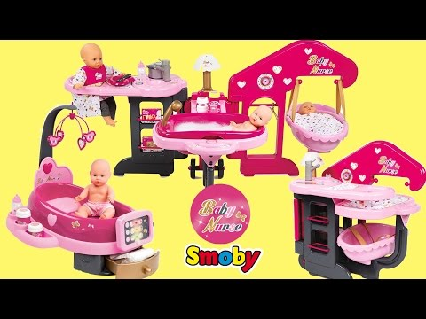 Baby Dolls Nursery Centre &  Electronic Doctor Clinic Baby Annabell Lil cutesies Dolls Toys Play