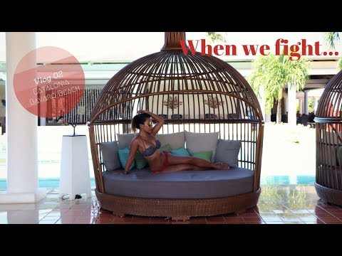 Catalonia Punta Cana Vlog 02: When we fight ...