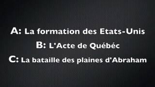 Examen De Citoyenneté Canadienne  [ Janvier 2014 ]